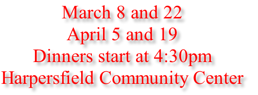 March 8 and 22